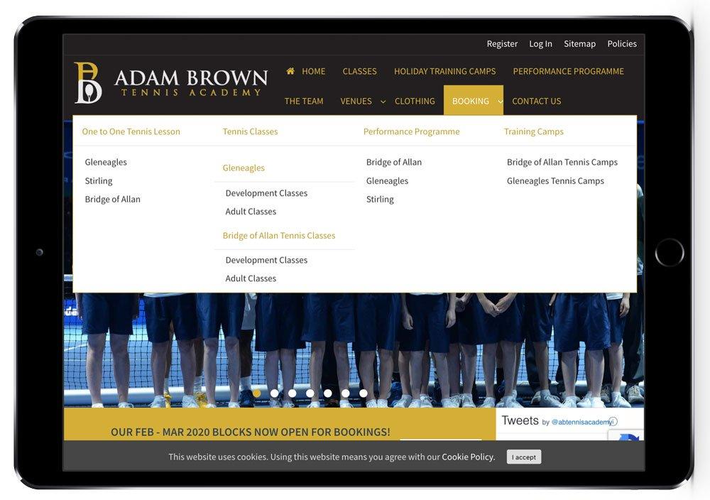 Adam Brown Tennis Academy