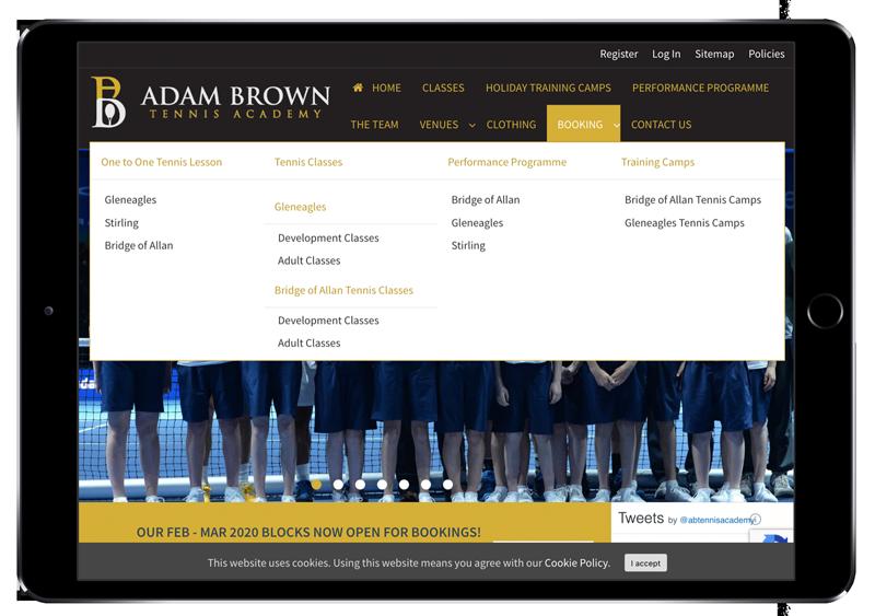 Adam Brown iPad